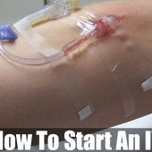 How To Start An IV - This will be valuable information to have on hand in the event SHTF and there are no nurses or Phlebotomists in your crew.