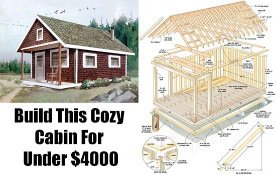 Small diy cabin kits joy studio design gallery best design for Cottage cabins to build affordable