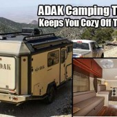 ADAK Camping Trailer Keeps You Cozy Off The Grid - As many of you know, I love camping trailers. I especially love this off grid trailer from ADAK because it is just pure awesomeness rolled up in one of the best trailers I have ever seen.