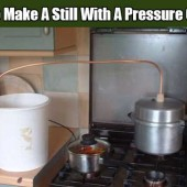 How To Make A Still With A Pressure Cooker - Knowing how to make a still could be really beneficial in an emergency situation. A still can do two things... Make alcohol and make dirty, unclean water and even salt water into water you can drink.