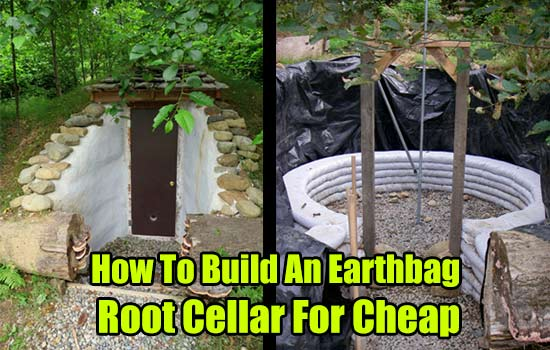 How to build an earthbag root cellar for cheap shtf amp prepping