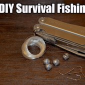 The DIY Survival Fishing Kit - This kit can be carried around with you in your bag, EDC kit or just left in your car. It contains all the essential items to catch fish.