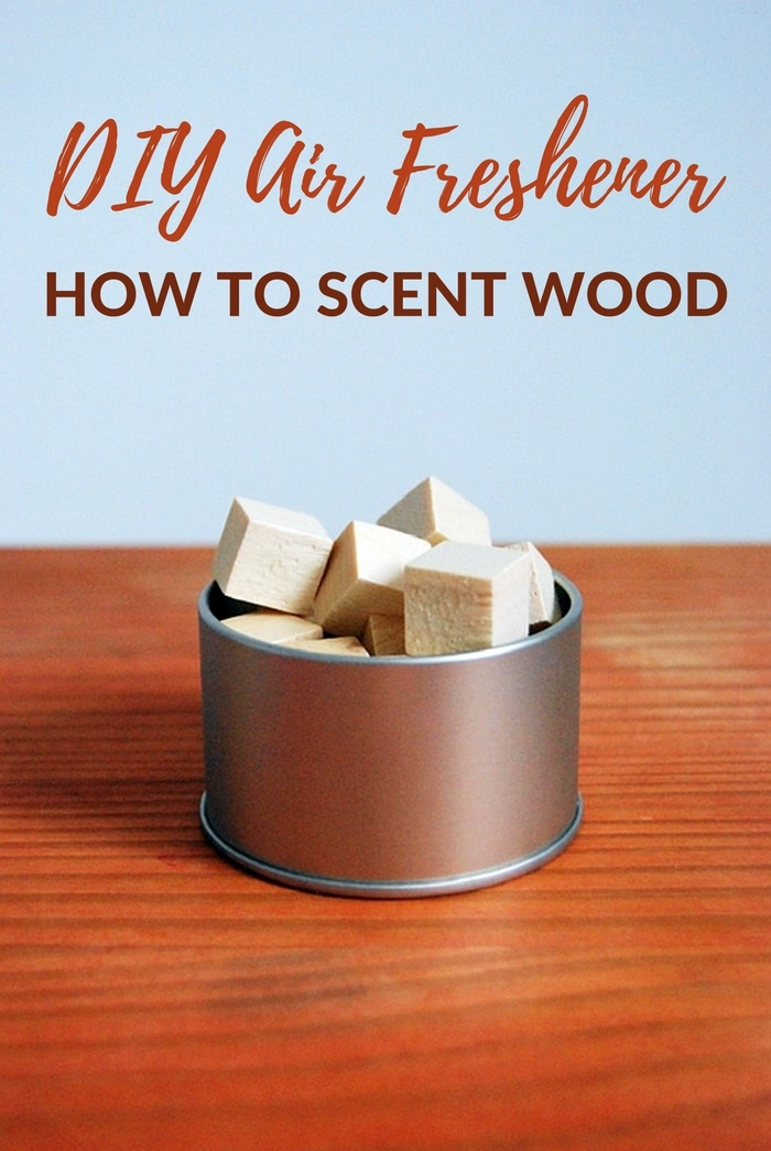 DIY Air Freshener: How To Scent Wood - Some air fresheners you buy from the store are made from harsh chemicals and to be quite honest, shouldn't be breathed in by anyone. Learn how to easily make a natural air freshener that lasts for weeks and can easily be re-used and topped up with scent for years to come. Image by northstory.ca
