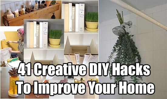 41 creative diy hacks to improve your home shtf prepping