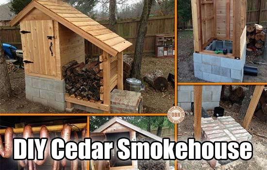 DIY Cedar Smokehouse - If you have been interested in smoking your own meat, I think this simple, easy to build cedar smokehouse is for you. This smoke house is built from cheap materials and once completed would make a very nice addition to any garden or homestead.