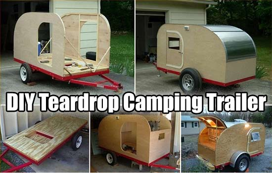 Easy Diy Teardrop Camping Trailer Shtfpreparedness