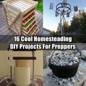 16 Cool Homesteading DIY Projects For Preppers