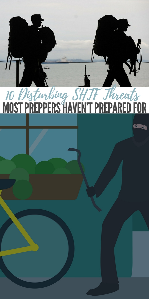 10 Disturbing SHTF Threats that most Preppers Haven't Prepared For — When SHTF it will be a scary and confusing time. Hundreds of thousands of people that are not prepping will be sitting ducks. Even preppers will be after reading the article in the link below.