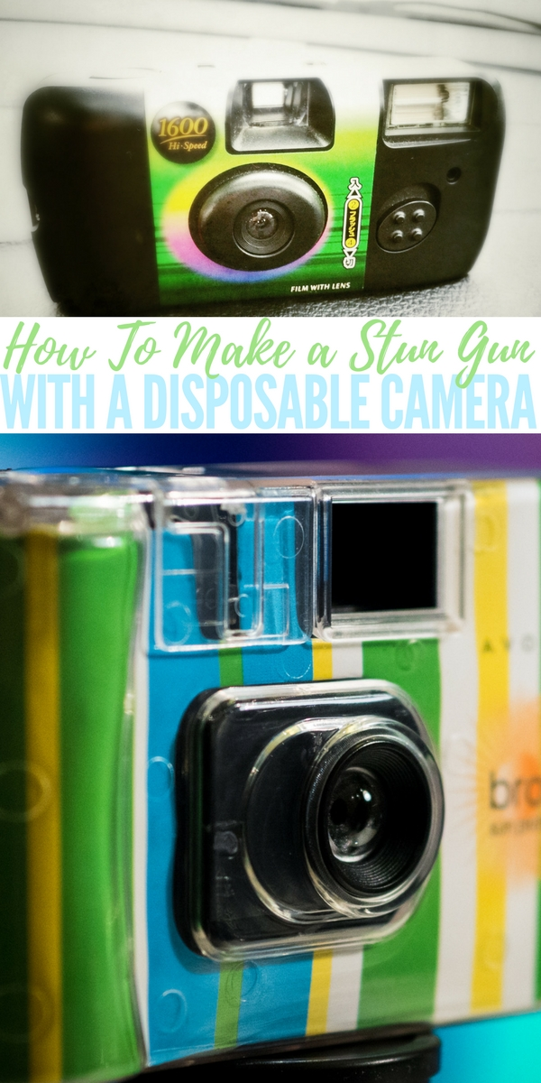 How To Make a Stun Gun With a Disposable Camera — This is the guide to make a device which runs on a battery and produces sparks at tens of thousands of volts very rapidly. DO NOT use this for any other reason then self defense.