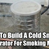 How To Build A Cold Smoke Generator For Smoking Meats - This project is easy and cheap to make. This is a great DIY project for people who want to try smoking meats but do not want to fork out hundreds of dollars on a store brought smoker.