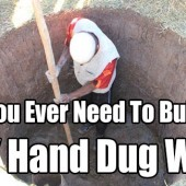 All You Ever Need To Build A DIY Hand Dug Well