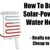 How To Build a Solar-Powered Water Heater