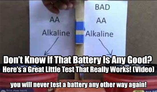 Don't Know if That Battery Is Any Good? You will never test a battery any other way again!