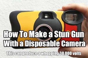 How To Make a Stun Gun With a Disposable Camera