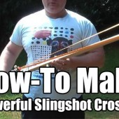 How-To Make A Powerful Slingshot Crossbow