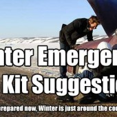 Winter Emergency Car Kit Suggestions