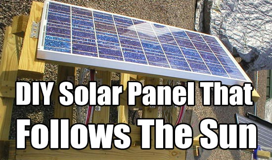 Diy Solar Panel That Follows The Sun Shtf Amp Prepping Central