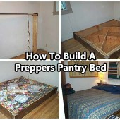 How To Build A Preppers Pantry Bed