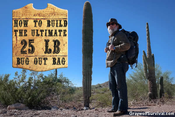 How To Build The Ultimate 25 Pound Bug Out Bag Shtf