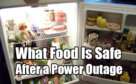 How Long Can Food Last In A Fridge Without Power