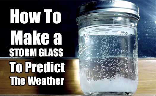 how to make a storm glass