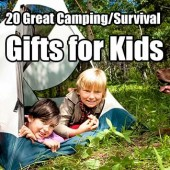 20 Great Camping/Survival Gifts for Kids