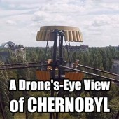 A Drone's-Eye View of Chernobyl - Prepare to see Pripyat, home of the Soviet-era Chernobyl Nuclear Power Plant, like never before. A British man has used a drone to offer entirely new angle on the abandoned Soviet city, which became famous for the Chernobyl meltdown on April 26, 1986.