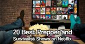20 Best Prepper and Survivalist Shows on Netflix — Ever since 9/11 there have been all sorts of prepper and survivalist shows popping up. Even more so since the financial crisis: Dual Survival, Doomsday Preppers, The Colony, and many others.