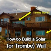How to Build a Solar (or Trombe) Wall