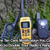 The Ten Cent Modification You Can Do to Double Your Radio's Range - Extending your radio's range can sometimes be a pricey operation as you must include many factors such as how powerful you want it to be, and how far you would like it to reach. Thankfully, there are more cost-effective methods to achieving the results you need.