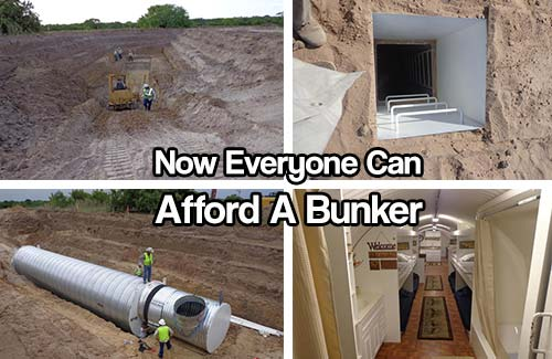 Now Everyone Can Afford A Bunker - I would love to build a bunker at my bug out location, honestly they are pricey but not out of reach… if we budget right and keep our prep heads on this dream can become a reality for majority of us reading this article.