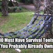 10 Must Have Survival Tools (You Probably Already Own)
