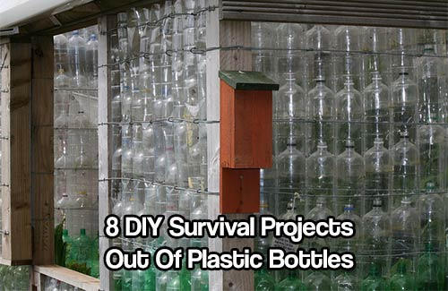 8 DIY Survival Projects Out Of Plastic Bottles - Billions of plastics are being used yearly in the whole world. The humble plastic bottle are not only used as containers for soda. You can use plastics bottles in a lot of different ways for survival too.