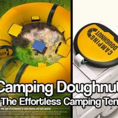 Camping Doughnut - The Effortless Camping Tent