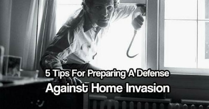 5 Tips For Preparing A Defense Against Home Invasion — Don't wait till some criminal comes barging in your home and harm you or your loved ones.