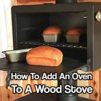 How To Add An Oven To A Wood Stove - I have for the longest time wanted to cook more efficiently on my wood stove. I already boil water to make my tea and fry bacon on the top of it but I really wanted to cook more complex meals with my setup. Now I can!
