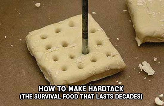 How To Make Hardtack -  What makes it different from other crackers is that it lasts for several years as long as you keep it dry.