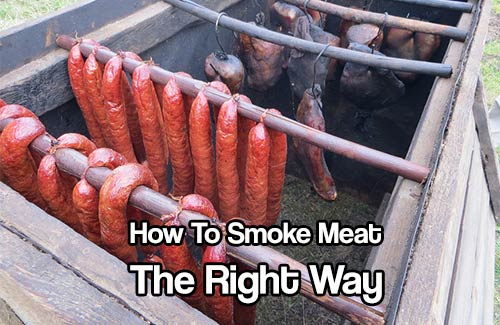 How to smoke meat the right way shtf prepping homesteading central - How to smoke meat ...