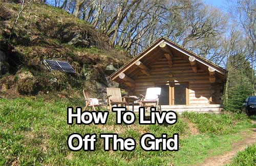 How to Live off the Grid - So you're sick of the city? It's not hard to become fed up with the constant traffic, annoying passersby, rude cashiers, honking outside when you're trying to sleep… the list is perpetually endless, and once you start thinking about it, it's not difficult to start imagining your life away from the general public.