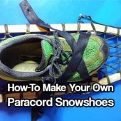 How-To Make Your Own Paracord Snowshoes