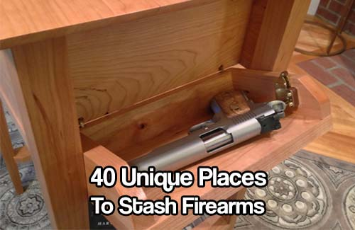 40 Unique Places to Stash Firearms