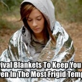 5 Survival Blankets To Keep You Warm