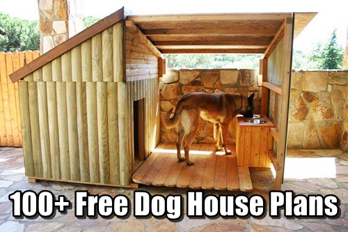 100 Free Dog House Plans Shtf Prepping Homesteading Central
