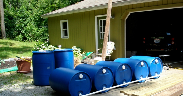 10 Awesome Things To Make With 55 Gallon Plastic Barrels — With Spring just around the corner I wanted to go hunting for some fun upcycling projects for my self. I came across a lot of new and interesting projects, but non as awesome as this one I am sharing with you all today.