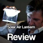 Solar Air Lantern Review
