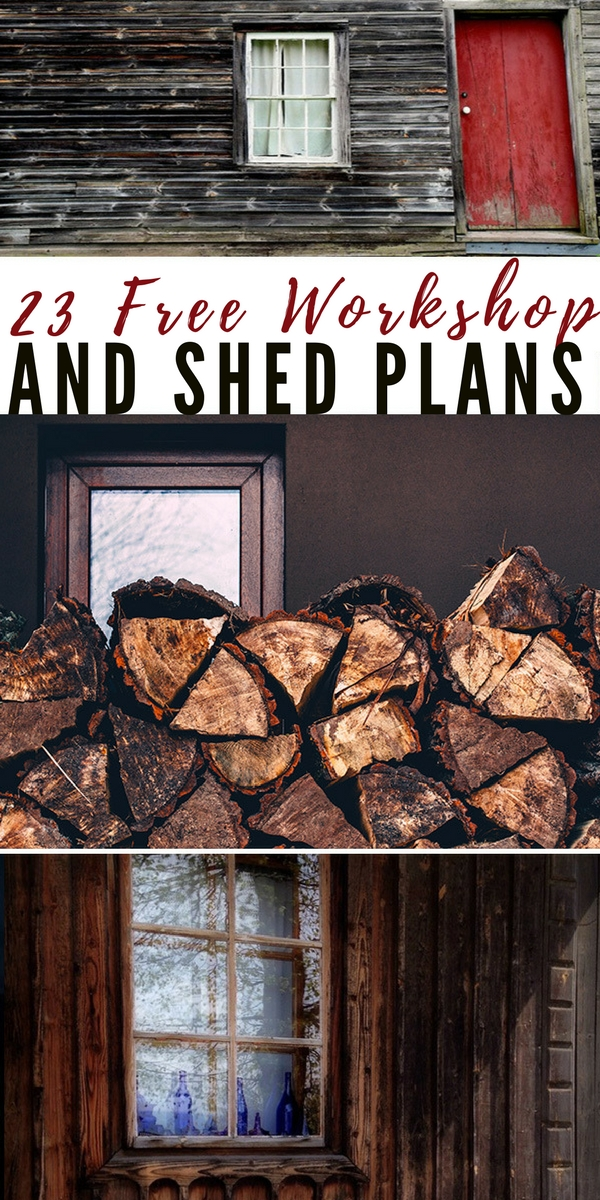 23 Free Workshop and Shed Plans - easy