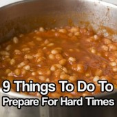 9 Things To Do To Prepare For Hard Times