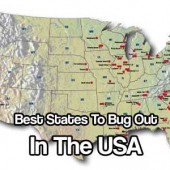 Best States To Bug Out In The USA