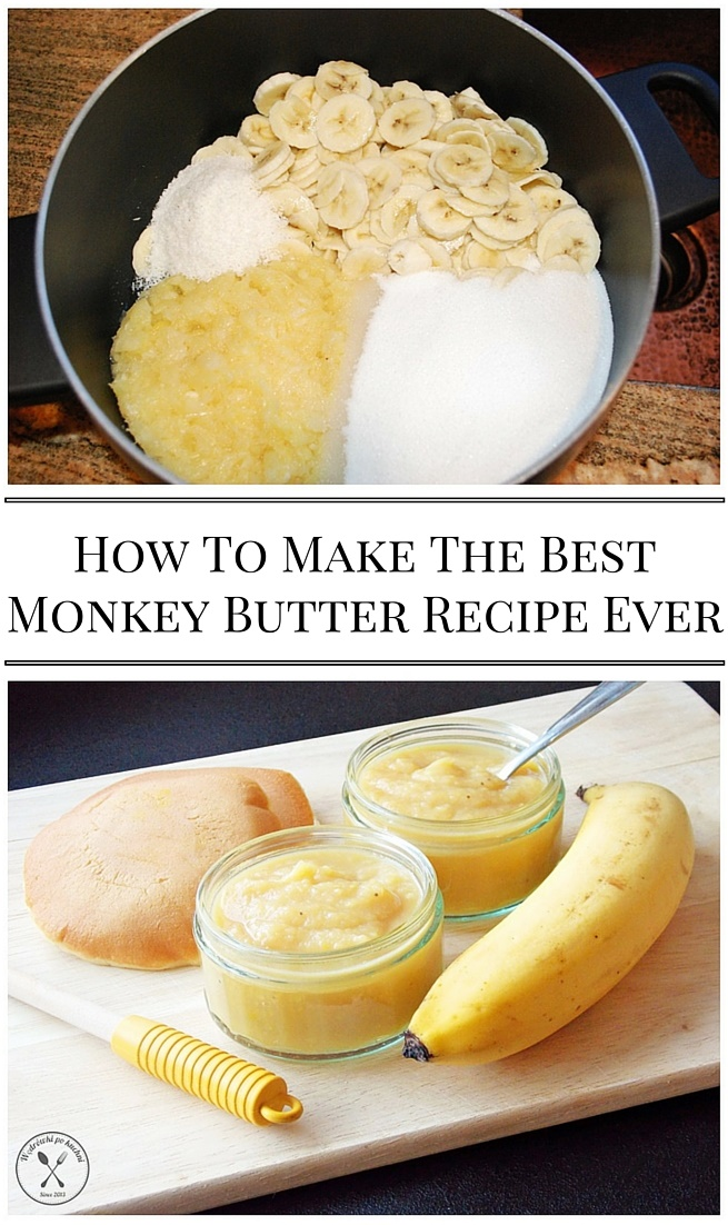 How To Make The Best Monkey Butter Recipe Ever - This spread is a delightful combination of bananas, pineapple, coconut, and citrus that I'm finding irresistible (my favorite so far is to spread a piece of whole wheat toast with peanut butter and a generous layer of this Monkey Butter). It's easy, nutritious, and delicious.