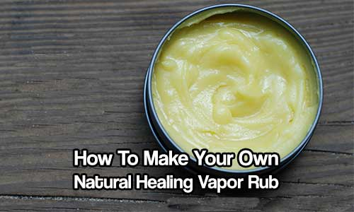 How To Make Your Own Natural Healing Vapor Rub - The use of essential oils for the ease of various ailments has been around for thousands of years. As modern medicine and science evolve, they (along with big pharma) are moving us further and further away from simple ingredients in our medicines.